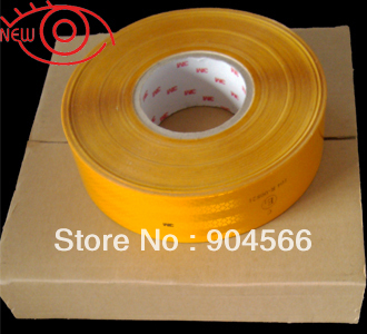 55mm*50M single packing high reflective diamond grade ECE Vehicle reflective tape