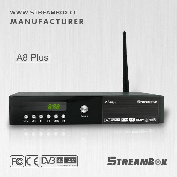 android TV box A8 PLUS DVB S2 T2 C(HD) with 1080p full cannel Hi 3796 digital satelite receiver tv box(China (Mainland))