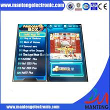Черный чехол ящик пандоры 3 мульти аркада джамма доска / 520 в 1 игре Board / 28 контакт. джамма разъем для игровых автоматах элт или жк кабинет