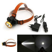 Buy Mini 1 Mode LED Headlight Rechargeable Fishing Light Outdoor Lighting LED Camping Headlamp Mining Light Water Resistant Light for $8.12 in AliExpress store
