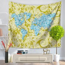 Popular map banner buy cheap map banner lots from china map banner 2017 hot world map constellation 3d print tapestry home decoration wall hanging living room bedroom tapestry curtain banners gumiabroncs Image collections