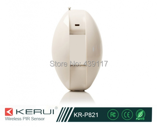 Home Security Alarm Wireless Passive Infrared Detector Alarm System Accessories KR-821 Launch frequency 315 MHZ or 433 MHZ <br><br>Aliexpress