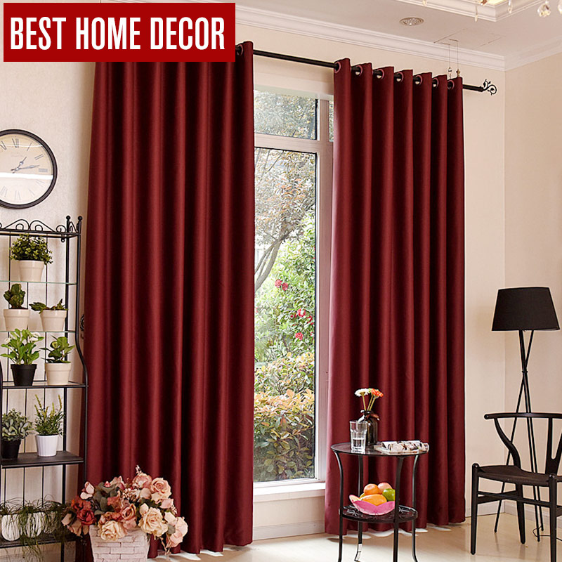Bhd modern blackout curtains for window treatment blinds for Modern living room window treatments