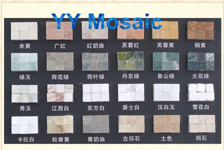 Hand Made Stone Mural Material