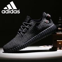 Hot Sale and Top Quality 2016 Men Women Gary and black casual 350 boostes 36-45 FREE SHIPPING shoes(China (Mainland))