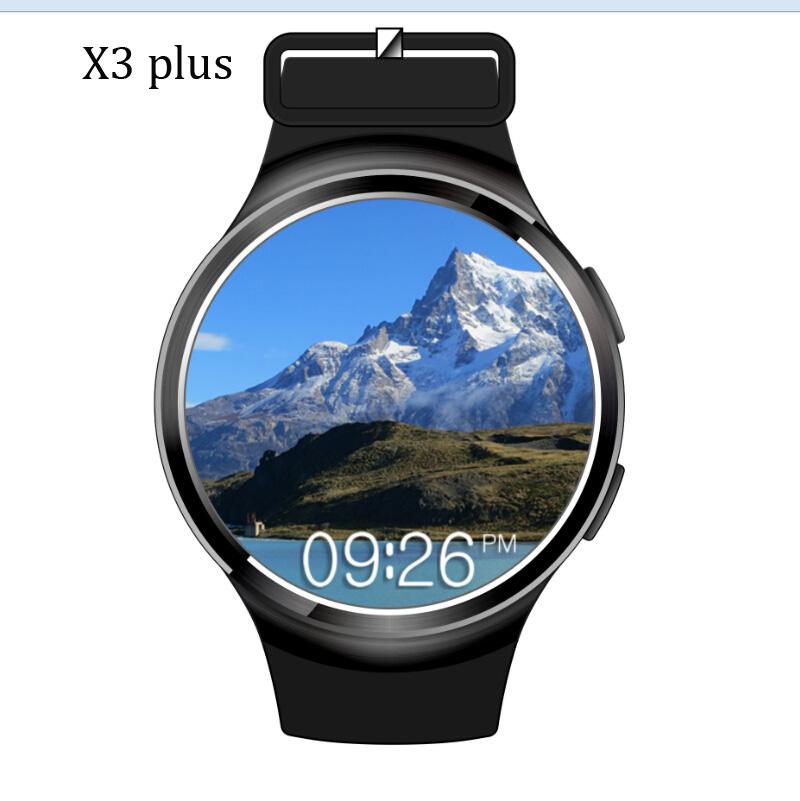 NEW Finow X3 plus Smart Watch K9 MTK6580 Andorid 5.1 RAM 1G ROM 8G Pedometer Fitness Tracker BT 3G Wifi For iOS&Andorid Phone(China (Mainland))