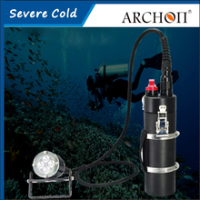 Buy ARCHON DH40 Canister Diving Light CREE XM-L2 U2 LED*4 4000lm 150 Meters Underwater Rechargeable Dive Torch Battery+Charger for $786.89 in AliExpress store