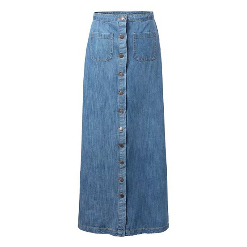 Compare Prices on Womens Long Denim Skirt- Online Shopping/Buy Low ...