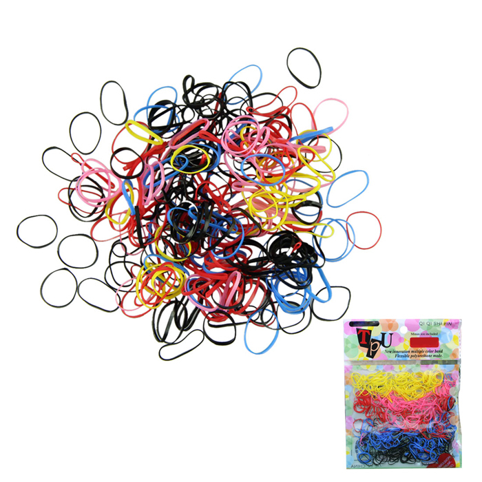 Delicate 50 Multi-color Women Girl DIY Hair Styling Rubber Hairband Rope Ponytail Elastic Band Ties Braids norlmcf - NorthStars store