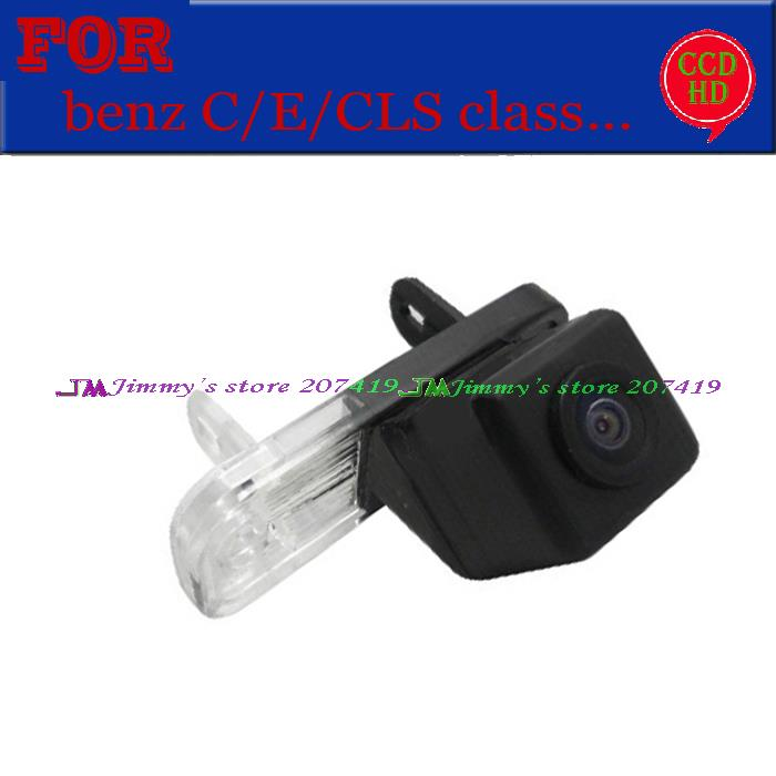 for Sony / CCD wire wireless car Parking camera for Mercedes Benz C W203 E W211 CLS Class 300 W219 W209 Backup Reverse assist(China (Mainland))