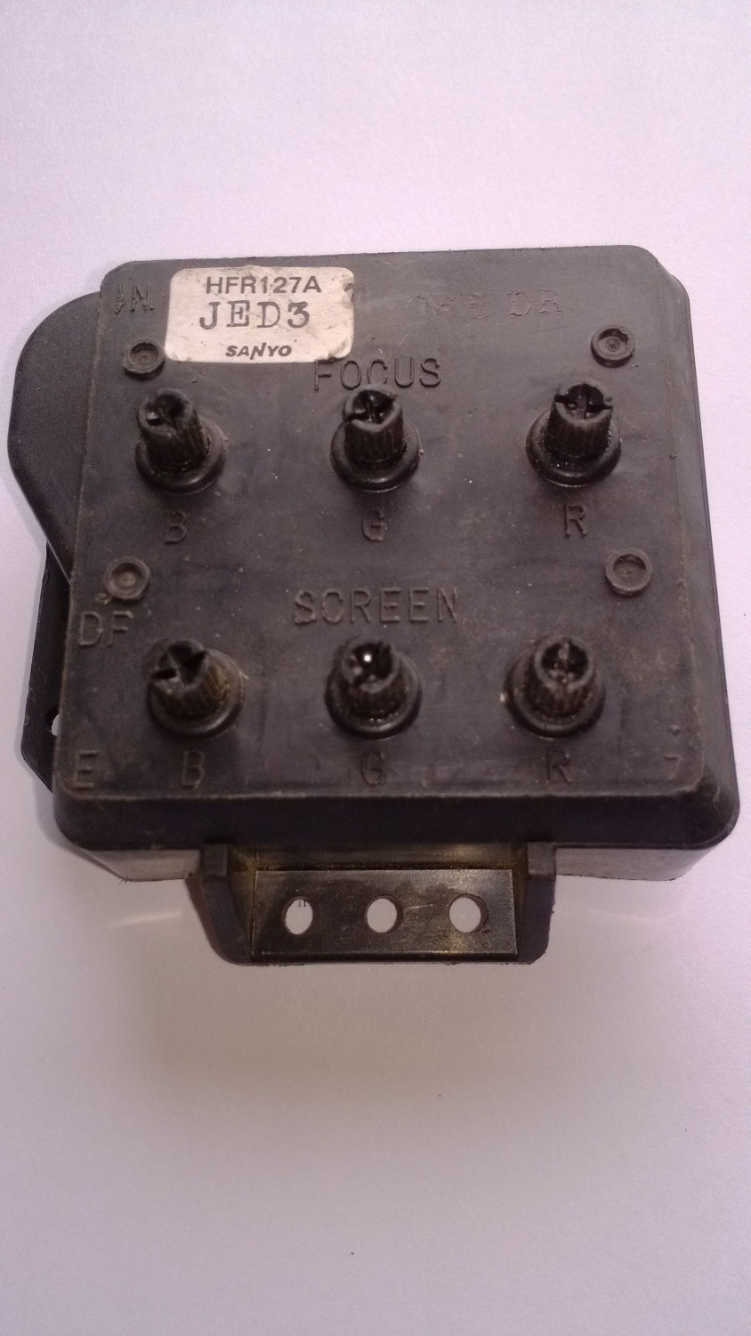 CRT FBT HFR127A JED3 flyback transformer FOR SANYO TV(China (Mainland))