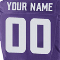 Men's Top Quality Stitched #28 Adrian #55 Anthony #5 Teddy #14 Stefon #22 Harrison Elite White Purple Jersey(China (Mainland))