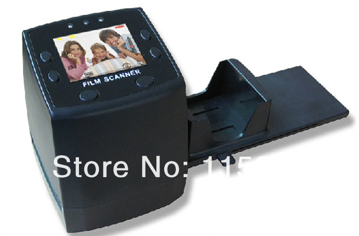 "5MP Digital Film Negative Photo Scanner Converter 35mm USB LCD Slide 2.4"" TFT Negative and Slide Film Scanner(China (Mainland))"