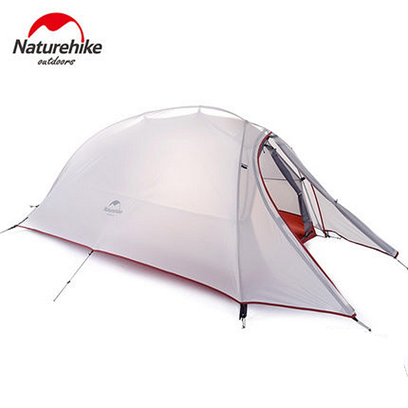 NatureHike 1 Person Tent Double-layer Tent Waterproof Dome Tents Camping 4 seasons Tents NH15T001-T With 1 Person Floor Mat(China (Mainland))