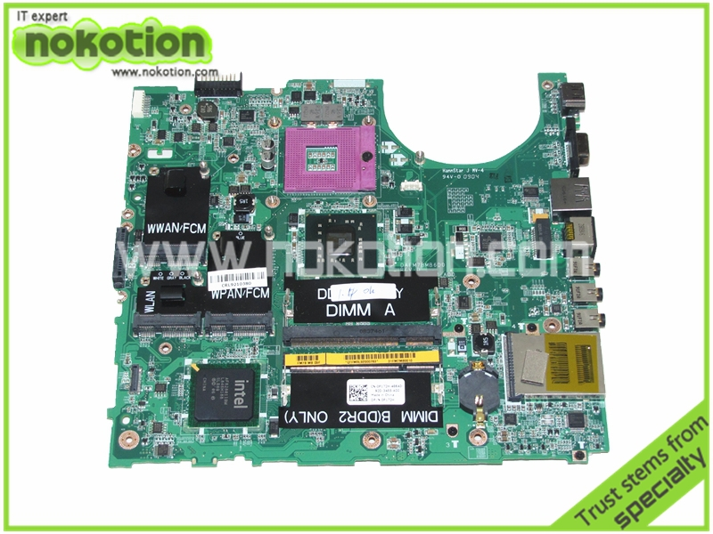 for Dell Studio 1537 Laptop motherboard P172H CN-0P172H DAFM7BMB6D0 GM45 DDR2 Mainboard Motherboard Full Tested free shipping<br><br>Aliexpress