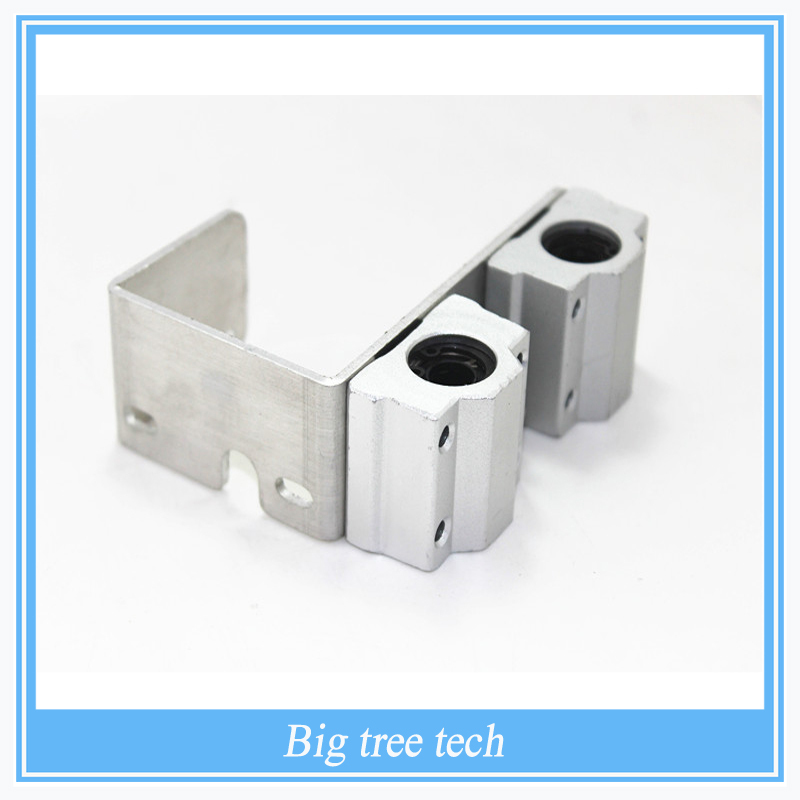 high qulity 3D printer U aluminum block box typelinear bearings 1 aluminum bearings for 3D printer