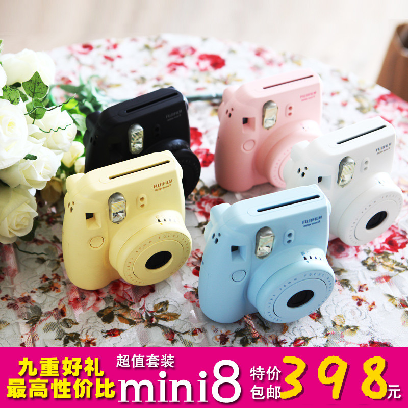 free shipping ! original Polaroid camera mini8 once imaging bundle ,in stock(China (Mainland))