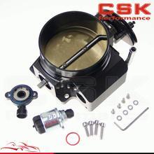 Buy 92mm throttle body + TPS IAC Throttle Position Sensor LSX LS LS1 LS2 LS7 BLACK for $77.25 in AliExpress store