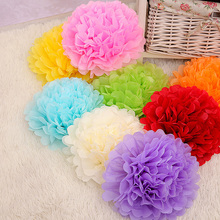 Sales Promotion 6 inch (15cm) Tissue Paper Pom Poms Wedding Party Decor Paper Flower For Wedding Decoration /Garden Supplies