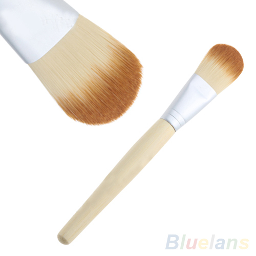 Bamboo Handle Soft Makeup Cosmetic Foundation Powder Blush Brush Beauty Tool 09KQ - Ideal Deal store