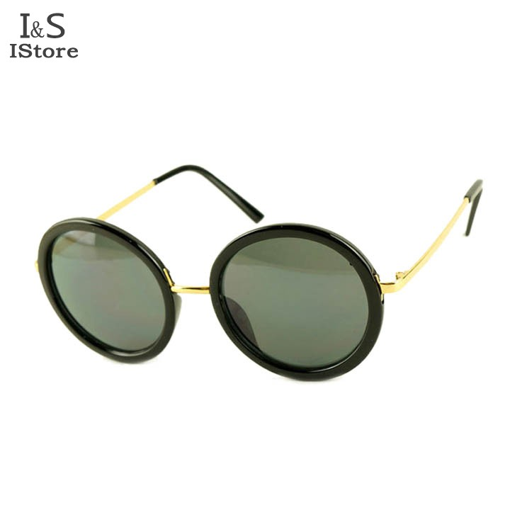 2013 New Fashion Hot Cool Vintage Unisex UV Protection Sunglasses Beach Glasses Restoring Round Frame 4 Colors 31(China (Mainland))