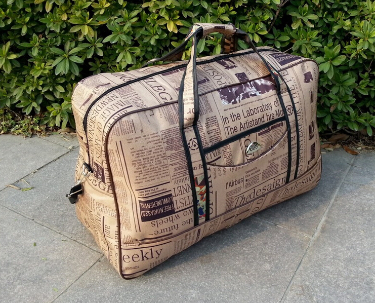 Free shipping oversized travel bag hand luggage bag Air bags checked bags quilt pouch(China (Mainland))