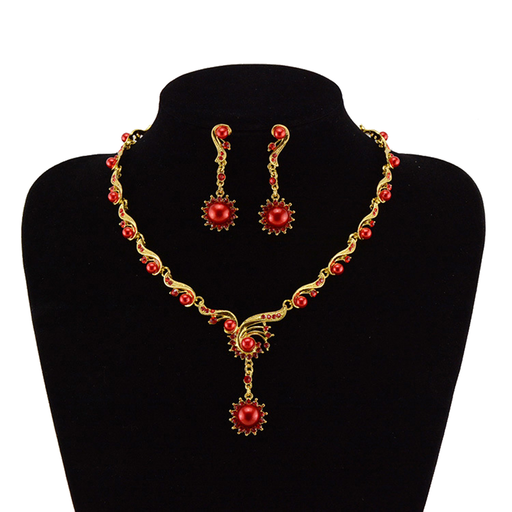 Popular Cheap Pearl Bridal Jewelry Sets-Buy Cheap Cheap Pearl Bridal Jewelry Sets Lots From ...