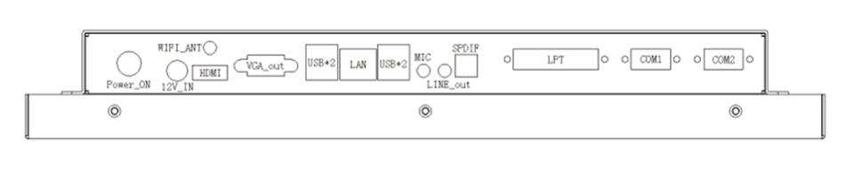 New style 17 inch laptop computer linux windows desktop computer with Intel Celeron 1037u 1.8Ghz 8G RAM 64G SSD