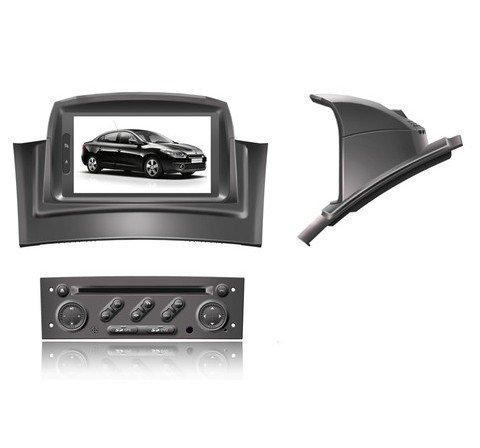 Renault DVD GPS  2 DIN DVD Car Radio GPS System Navigation With 3G USB Host For Renault Megane II