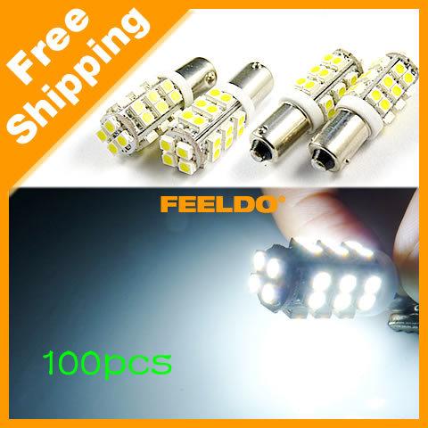 White Car BA9S T4W 1895 3528/1210 28SMD Lamp LED Light Bulbs SKU#:3415