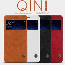Buy Nillkin QIN Series XIAOMI mi5 mi5s Flip Cover Case Luxury Brand Use Fine Leather 360 Degree Protection xiaomi mi 5 5s for $9.89 in AliExpress store