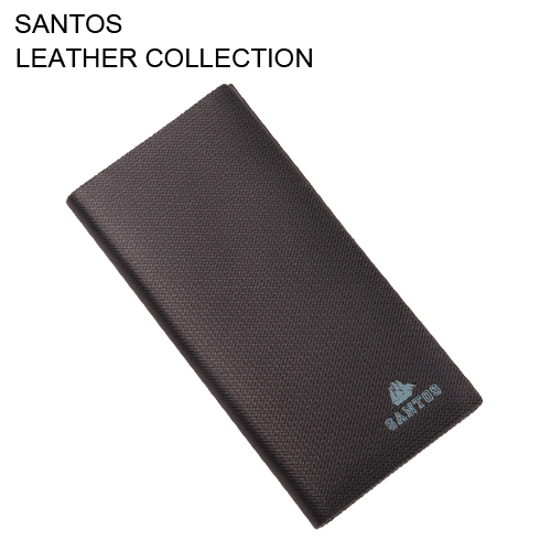 Santos Free Shipping + Classic Long Coat Wallet + Leather Wallet Man + Latest Design Wallet SAQBL003-H