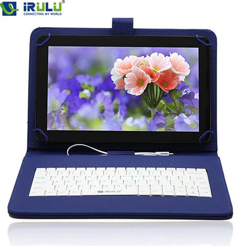 """iRULU eXpro X1c 10.1"""" A9 Quad Core 512MB 8GB Android 4.4 PC Tablet Computer HDMI WIFI Black Plate with Keyboard Case(China (Mainland))"""