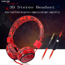 2016 new Deep Bass Game Headphone Stereo Surrounded Over-Ear Gaming Headset Headband Earphone for Computer PC Gamer Best Gifts