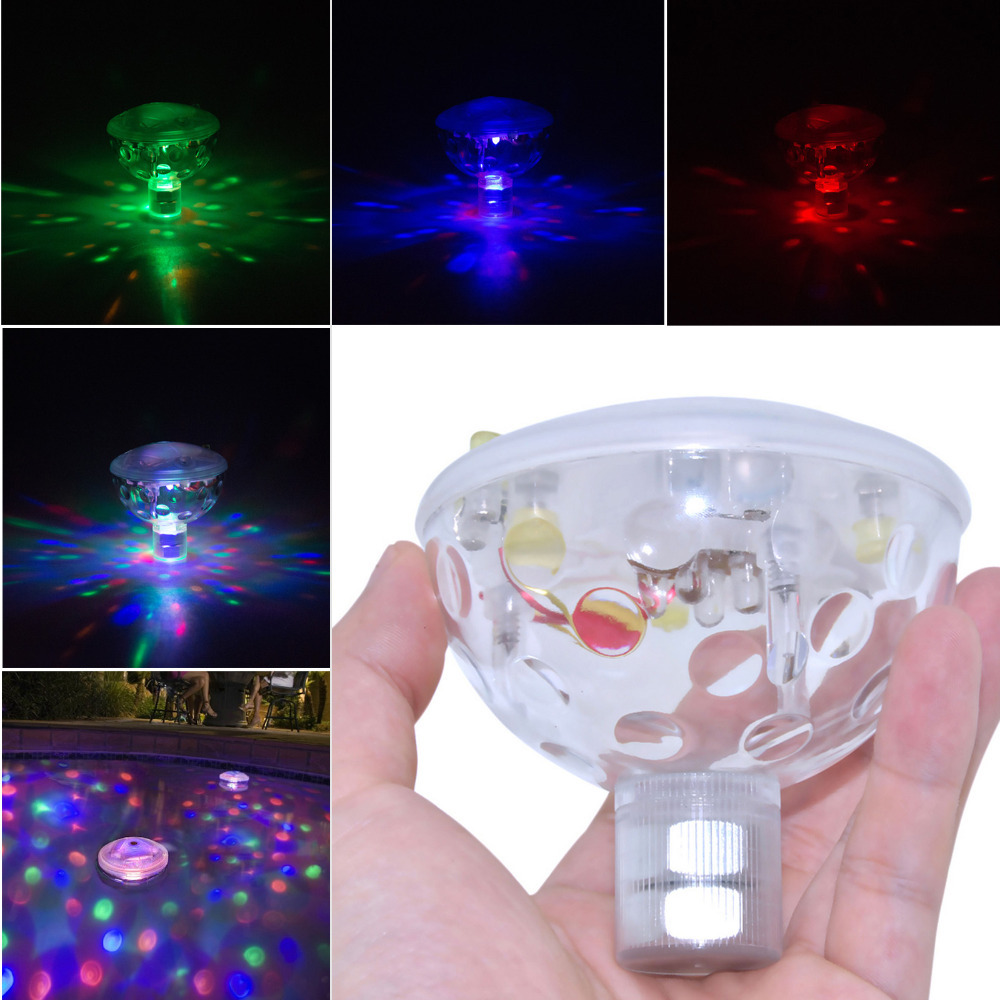 New Arrival Stage Party Disco Holiday LED Light IP67 Waterproof for Spa Bathtub Pond Swimming Pool Jacuzzi Decoration Colorful(China (Mainland))