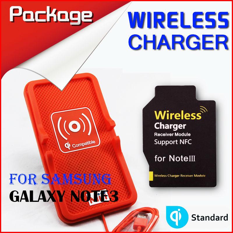 Miii New Wireless Charger Set Multi-function PVC non-slip mat Samsung Galaxy Note III QI standard - HONG KONG MI(INTERNATIONAL store TECHNOLOGY CO., LIMITED)