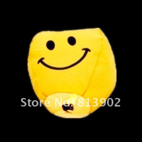 25pcs/lot Smiling face Chinese Sky Lantern Wishing lamp paper lantern ballons,SL055