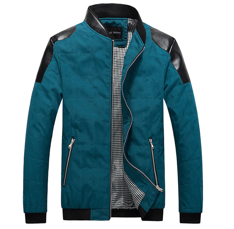 2015 new men jacket spring jacket men Slim jacket 2Colors Size M-3XL  free shipping 060-AG good quality jacket men