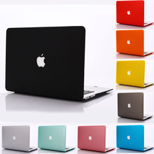 2016 NEW Matte Cover Case For Apple macbook Air Pro Retina 11 12 13 15 laptop bag For Mac book 13.3 inch