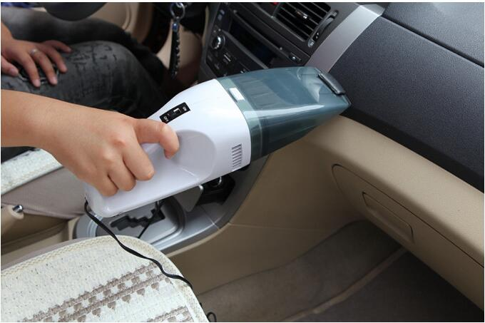 12V 75W Car Vacuum Cleaner Cyclonic Action Automotive Pivoting Utility Wet Dry Dual Use Vaccum Cleaner for Car(China (Mainland))