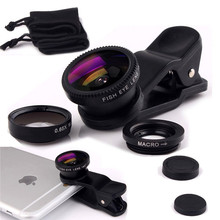 For Sony Xperia T2 Ultra D5303 S36h M2 M4 M5 Wide Angle Macro Fisheye Lenses 3