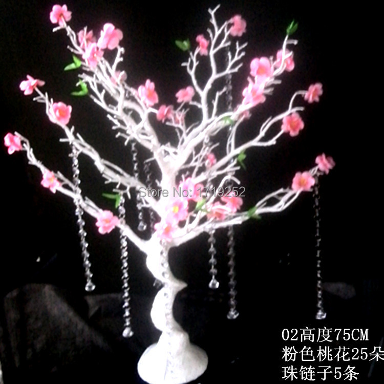 Peach branches wedding room decoration holiday decorations deadwood