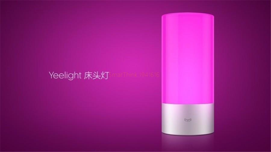 image for Original Smart Xiaomi Yeelight Bedside Lamp Bluetooth LED Light Touchl