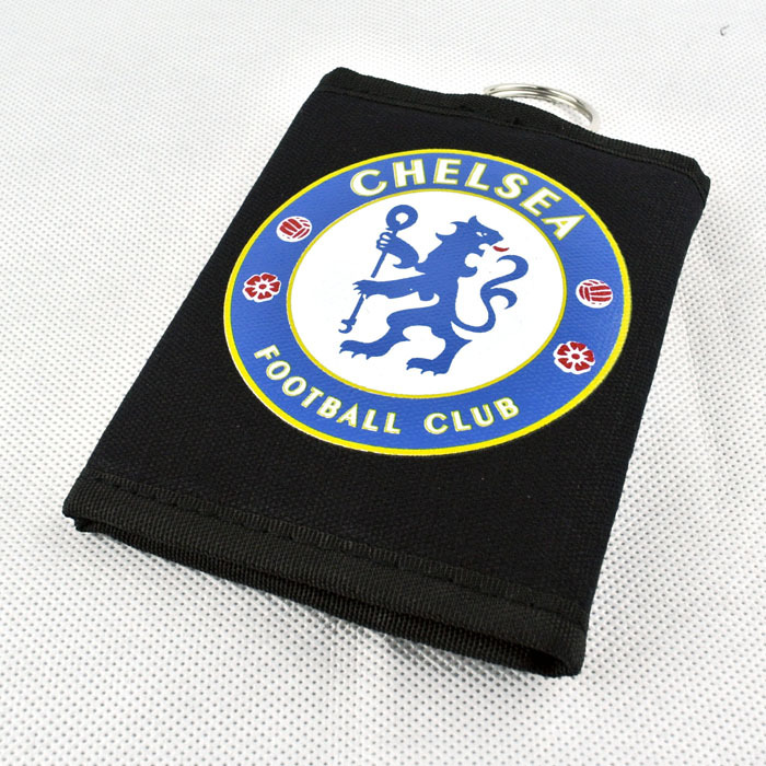 2015 Hot Sale Unisex Sport Wallet Of Football Style For Students Fashion Casual Black And Blue Lion Logo Letter Wallet(China (Mainland))