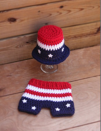 2015 Hot Sale Fotografia The Newborn Baby Hat Crochet Clothing Stripe Style Picture Photography Props Suit Gentleman Cap Photo(China (Mainland))