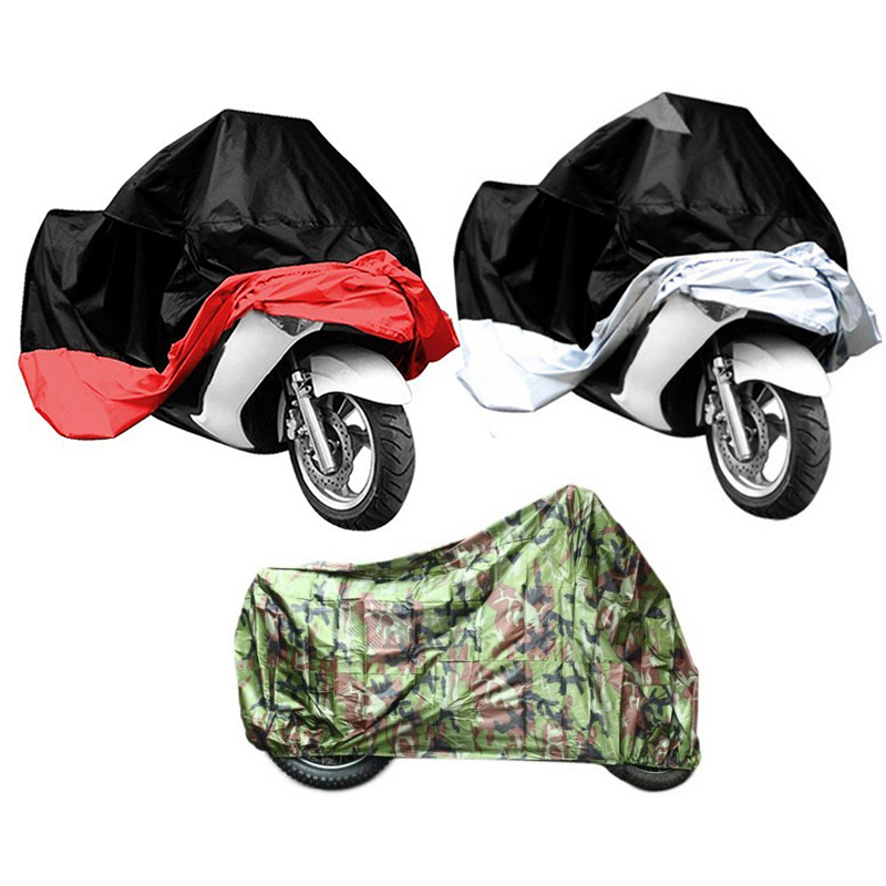Motorcycle Waterproof Rain Cover Bike Outdoor UV Protective Scooter Rain Dust Cover L(China (Mainland))