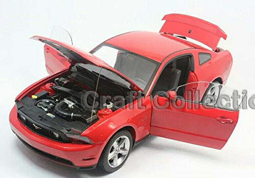 Autoart 1/18 Ford Mustang GT 2010 (Pink) Alloy Mannequin Automotive Scorching Promoting Auto Presents Miniatures Presents