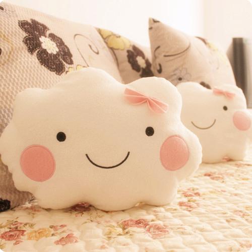 Cloud Shaped Pillow Face Cloud Shape Cushion