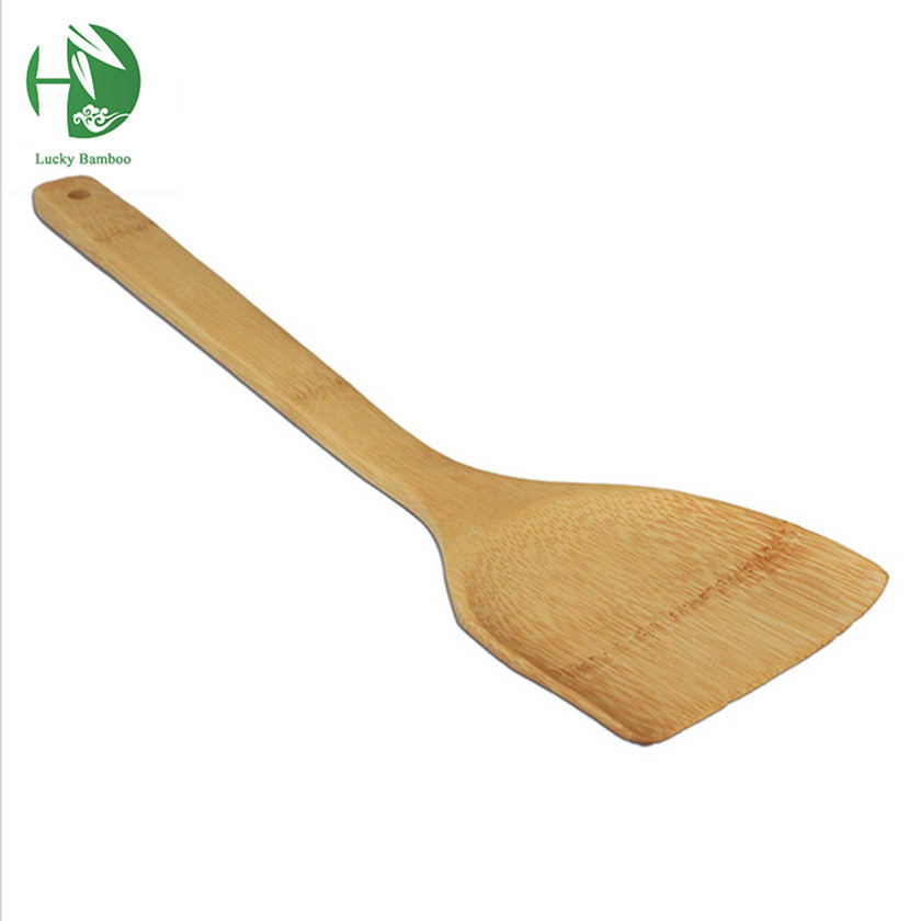 hand carved polished natural bamboo shovel and wooden spoon The ...
