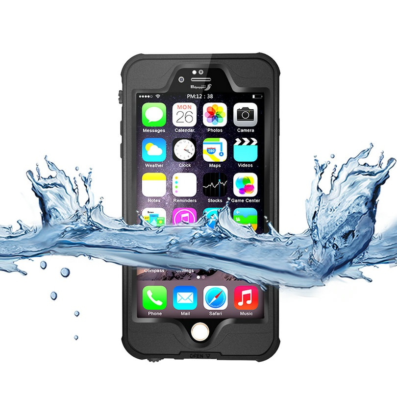 Redpepper Dot Series Waterproof Case Diving Underwater Watertight Cover For iPhone 6 6S 4.7 inch Hard PC+TPU Hybrid Armor Cover(China (Mainland))
